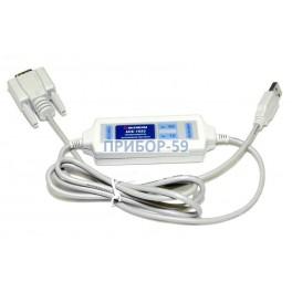 АСЕ-1633 Преобразователь интерфейсов RS-232 - USB с гальванической развязкой