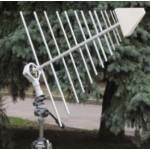 Сверхширокополосная измерительная логопериодическая антенна П6-122М2