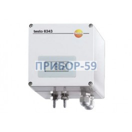 Трансмиттер дифференциального давления Testo 6343