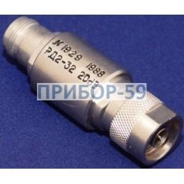 Аттенюатор резисторный фиксированный РД2-32