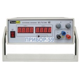 Источник питания лабораторный ПрофКиП Б5-71/1М